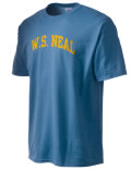 The W.S. Neal High School t-shirt is destined to become your favorite. This heavyweight cotton shirt is built with style, comfort, and durability in mind. And with so many colors to choose, you'll a different one for every day of the week!