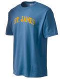 St. James t-shirt.