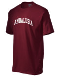 The Andalusia High School t-shirt is destined to become your favorite. This heavyweight cotton shirt is built with style, comfort, and durability in mind. And with so many colors to choose, you'll a different one for every day of the week!