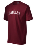 Handley t-shirt.