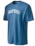 Bayside Academy t-shirt.