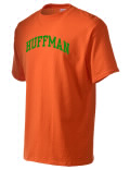 Huffman t-shirt.