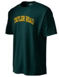 Taylor Road Academy t-shirt.