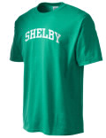 Shelby Academy t-shirt.