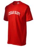 Cedar Bluff t-shirt.