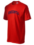 The Oneonta High School t-shirt is destined to become your favorite. This heavyweight cotton shirt is built with style, comfort, and durability in mind. And with so many colors to choose, you'll a different one for every day of the week!