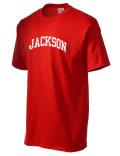 Jackson Academy t-shirt.