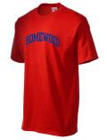 Homewood t-shirt.