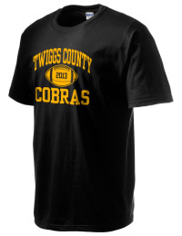 This custom Twiggs County High School Cobras crewneck t-shirt with a seamless collar turns a classic into an ultra comfortable apparel choice. Customize this t-shirt with your favorite Cobras design and personalize with your Twiggs County High School Cobras year. Choose your custom design for your tee and wear this customized t-shirt proudly.