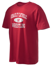 This custom Gibault Catholic High School Hawks crewneck t-shirt with a seamless collar turns a classic into an ultra comfortable apparel choice. Customize this t-shirt with your favorite Hawks design and personalize with your Gibault Catholic High School Hawks year. Choose your custom design for your tee and wear this customized t-shirt proudly.