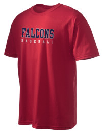 This custom Forbush High School Falcons crewneck t-shirt with a seamless collar turns a classic into an ultra comfortable apparel choice. Customize this t-shirt with your favorite Falcons design and personalize with your Forbush High School Falcons year. Choose your custom design for your tee and wear this customized t-shirt proudly.