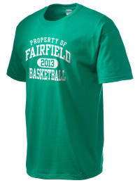 This custom Fairfield High School Knights crewneck t-shirt with a seamless collar turns a classic into an ultra comfortable apparel choice. Customize this t-shirt with your favorite Knights design and personalize with your Fairfield High School Knights year. Choose your custom design for your tee and wear this customized t-shirt proudly.