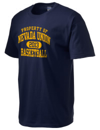 This custom Nevada Union High School Miners crewneck t-shirt with a seamless collar turns a classic into an ultra comfortable apparel choice. Customize this t-shirt with your favorite Miners design and personalize with your Nevada Union High School Miners year. Choose your custom design for your tee and wear this customized t-shirt proudly.