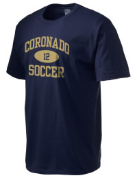 This custom Coronado High School Thunderbirds crewneck t-shirt with a seamless collar turns a classic into an ultra comfortable apparel choice. Customize this t-shirt with your favorite Thunderbirds design and personalize with your Coronado High School Thunderbirds year. Choose your custom design for your tee and wear this customized t-shirt proudly.