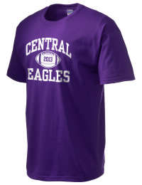This custom Omaha Central High School Eagles crewneck t-shirt with a seamless collar turns a classic into an ultra comfortable apparel choice. Customize this t-shirt with your favorite Eagles design and personalize with your Omaha Central High School Eagles year. Choose your custom design for your tee and wear this customized t-shirt proudly.