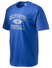This custom Olympic High School Trojans crewneck t-shirt with a seamless collar turns a classic into an ultra comfortable apparel choice. Customize this t-shirt with your favorite Trojans design and personalize with your Olympic High School Trojans year. Choose your custom design for your tee and wear this customized t-shirt proudly.