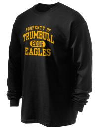 Trumbull High School Eagles Gildan Men's 6.1 oz Ultra Cotton Long-Sleeve T-Shirt
