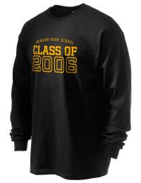 Newark High School Yellow Jackets Gildan Men's 6.1 oz Ultra Cotton Long-Sleeve T-Shirt
