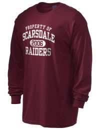 Scarsdale High School Raiders Gildan Men's 6.1 oz Ultra Cotton Long-Sleeve T-Shirt