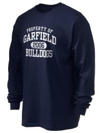 Garfield High School Bulldogs Gildan Men's 6.1 oz Ultra Cotton Long-Sleeve T-Shirt