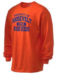 Theodore Roosevelt Senior High School Rough Riders Gildan Men's 6.1 oz Ultra Cotton Long-Sleeve T-Shirt