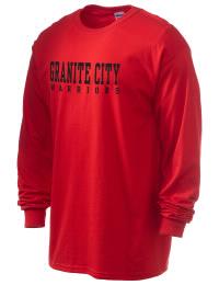 Granite City High School Warriors Gildan Men's 6.1 oz Ultra Cotton Long-Sleeve T-Shirt