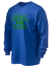 Winston Churchill High School Bulldogs Gildan Men's 6.1 oz Ultra Cotton Long-Sleeve T-Shirt
