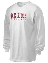 Oak Ridge High School Wildcats Gildan Men's 6.1 oz Ultra Cotton Long-Sleeve T-Shirt